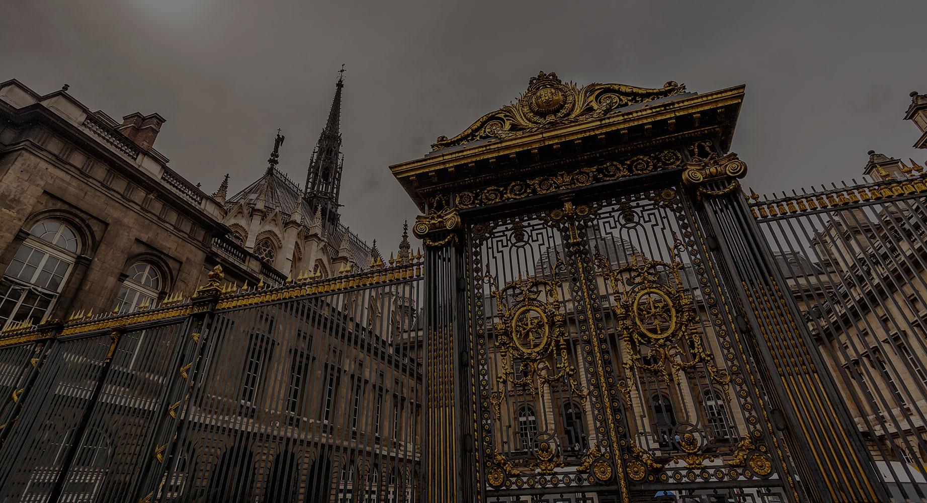 Grille du Palais de justice de Paris - Choisez et associés